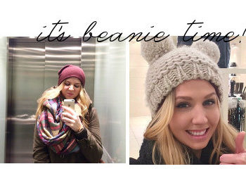 beanie over the top