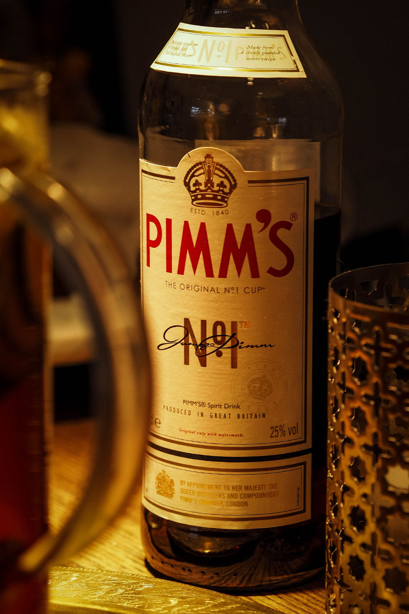 Der Sherlock: Pimms Cocktail
